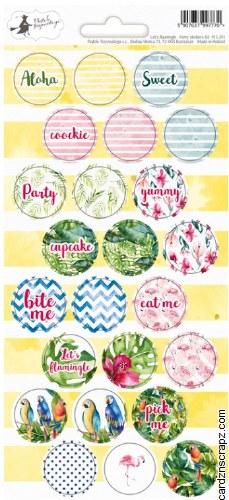 Stickers Piatek Let's Flamingle #2
