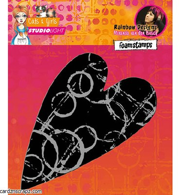 StudioLight Foam Stamp Heart