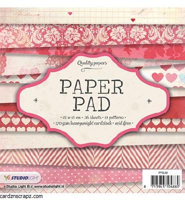 """Paper Pad 6x6"""" StudioLight No.80"""