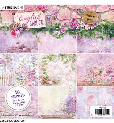 "Paper Pk StudioLight 6x6""  English Garden Nr.135"