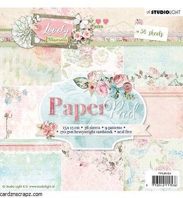 Studiolight Paper Pad, Lovely Moments Nr.124