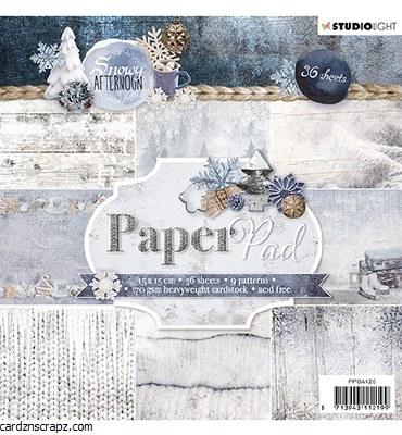 Studiolight Paper Pad, Snowy Afternoon Nr.125