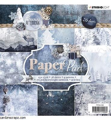 Studiolight Paper Pad, Snowy Afternoon Nr.126