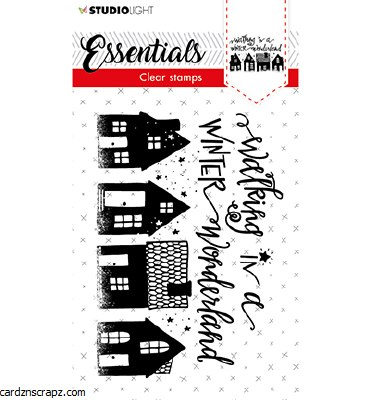 Clear Stamp A6 Studiolight Stamp Essentials Nr. 393 Winter Wonderland