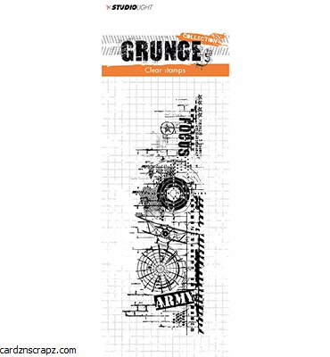 Clear Stamp Studiolight Grunge Collection Nr.342