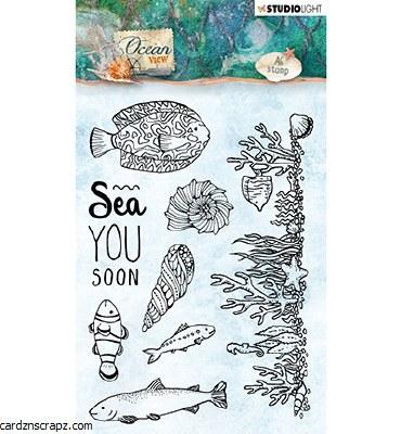 Clear Stamp Studiolight Ocean View Nr.369