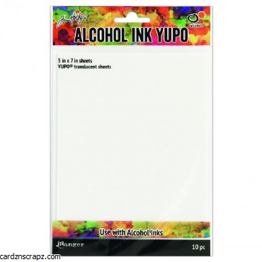 "Alcohol Yupo Paper 5x7"" 10pk 150gm"