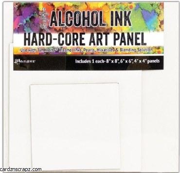 Alcohol Ink Art Panel Asst 3pk