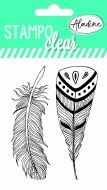 Clear Stamp Aladine Feathers