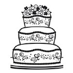 Darice Embossing Folder 4.25X5.75 Fancy Cake