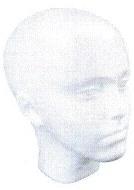 "Polystyrene Head 225mm 8¾"""