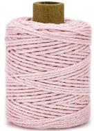 Cotton Cord 2mm 50m Baby Pink