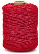 Cord Cotton 2mm 50m Xmas Red