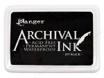 Ranger Archival Inkpad Jet Black