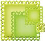 Spellbinders Nestabilities Dies Leafy Squares