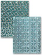 "Embossing Folder 5x7"" Patchwork"