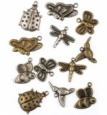 Charms Insects 12pk