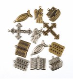 Charms Religious Objects 12pk