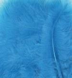 Feathers Marabou Turquoise 15pk