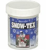 Deco Art Snow Tex 4oz Jar