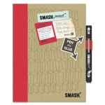 K & Co. Smash Folio Doodle Red
