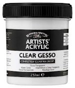 Winsor & Newton 225ml Clear Gesso Base