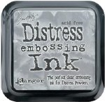 Ranger Tim Holtz Clear For Embossing Distress Ink Pad