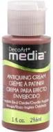 DecoArt Mixed Media Antiquing Cream Red
