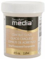 DecoArt Clear Crackle Glaze Clear