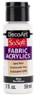 DecoArt SoSoft 59ml White