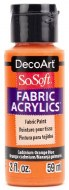 DecoArt SoSoft 59ml Orange Cadmium