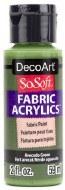 DecoArt SoSoft 59ml Green Avocado