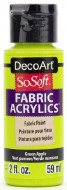 DecoArt SoSoft 59ml Green Apple