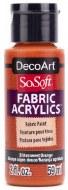 DecoArt SoSoft 59ml Orange Bittersweet