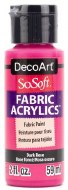 DecoArt SoSoft 59ml Pink Rose Dark