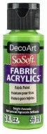 DecoArt SoSoft 59ml Green Avocado Bright