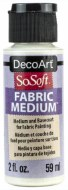 DecoArt SoSoft 59ml Transparent Medium