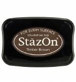 Staz-on Ink Pad Timber Brown