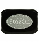 Staz-on Ink Pad Dove Grey