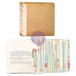 Prima Bloom 3-Ring Binder Art Journal 8x8""