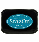 Staz-on Ink Pad Teal Blue