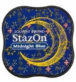 Tsukineko Stazon Midi Midnight Blue