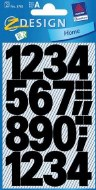 Stickers Numbers Large 25mm