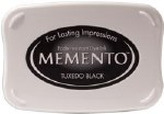 Stamp Pad Memento Black