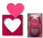 "Punch Heart Large 5cm-2"""