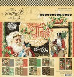 Paper Pk 12x12 Graphic 45 Xmas Time