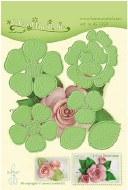 Leane Creatief Die Multi Flower 016 Rose 3D 455350