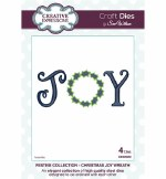 Creative Expressions Die Joy Wreath
