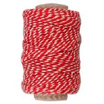 String Striped Red 1.1mm x50m