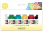 Acrylic 59ml Artiste 6pk Basic